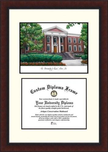 Akron Zips Legacy Scholar Diploma Frame