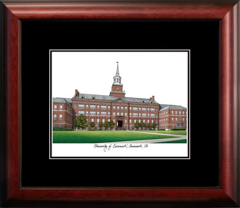 Cincinnati Bearcats Campus Images Lithograph