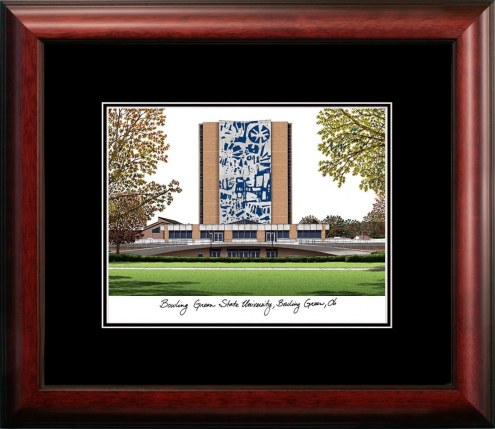 Bowling Green State Falcons Campus Images Lithograph