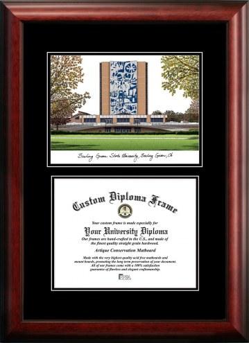 Bowling Green State Falcons Diplomate Diploma Frame
