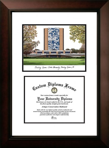 Bowling Green State Falcons Legacy Scholar Diploma Frame