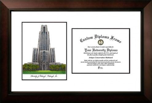 Pittsburgh Panthers Legacy Scholar Diploma Frame