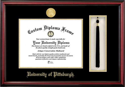 Pittsburgh Panthers Diploma Frame & Tassel Box