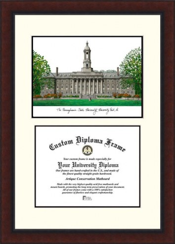 Penn State Nittany Lions Legacy Scholar Diploma Frame