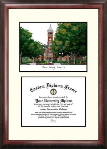 Clemson Tigers Scholar Diploma Frame