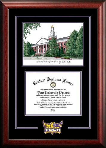 Tennessee Tech Golden Eagles Spirit Graduate Diploma Frame