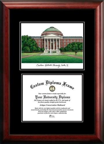Southern Methodist Mustangs Diplomate Diploma Frame