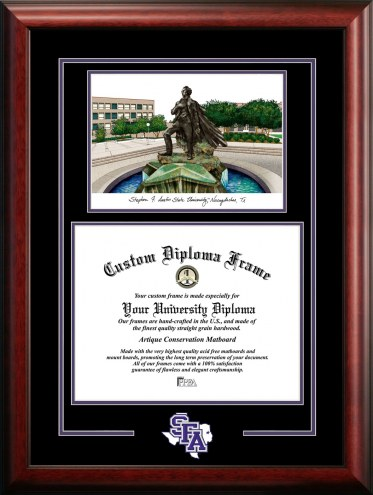 Stephen F. Austin State Lumberjacks Spirit Graduate Diploma Frame