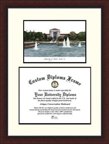 Houston Cougars Legacy Scholar Diploma Frame