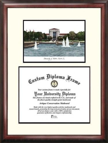 Houston Cougars Scholar Diploma Frame