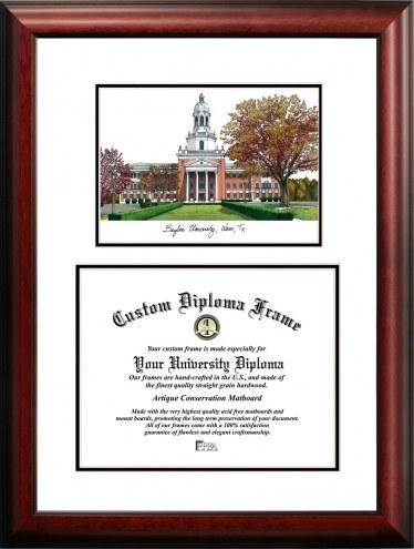 Baylor Bears Scholar Diploma Frame