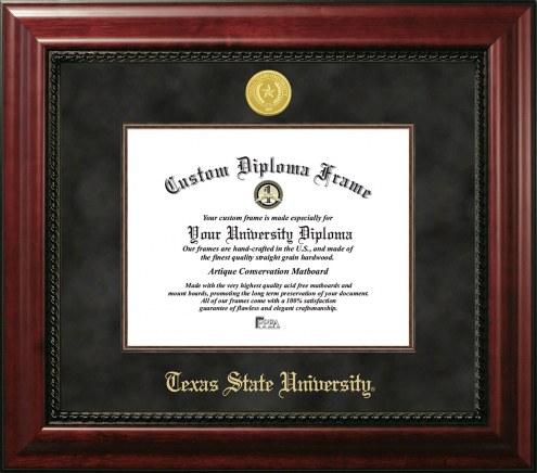 Texas State Bobcats Executive Diploma Frame