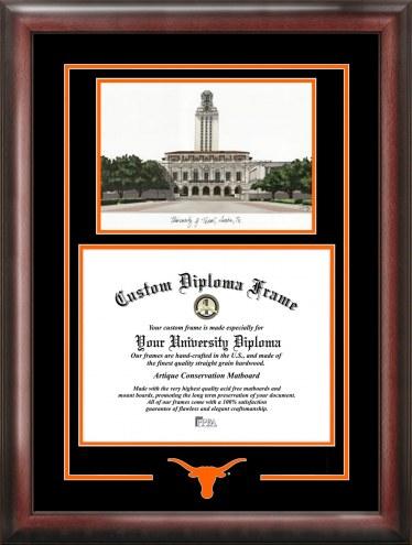 Texas Longhorns Spirit Graduate Diploma Frame