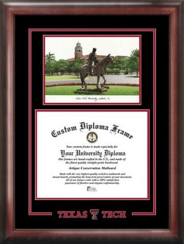 Texas Tech Red Raiders Spirit Graduate Diploma Frame
