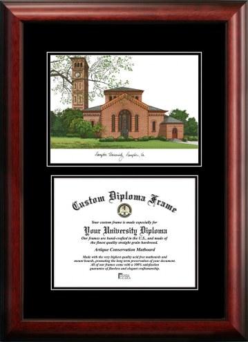 Hampton Pirates Diplomate Diploma Frame
