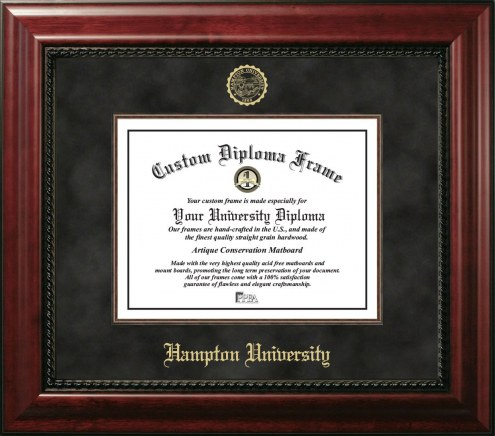 Hampton Pirates Executive Diploma Frame