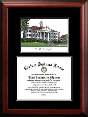 James Madison Dukes Diplomate Diploma Frame