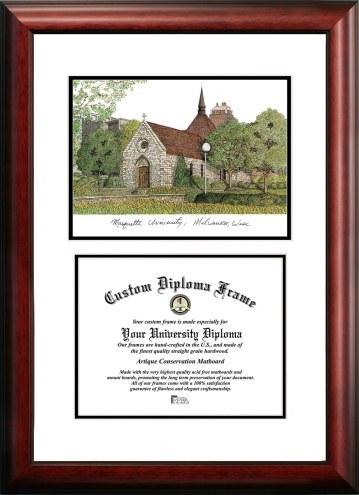 Marquette Golden Eagles Scholar Diploma Frame