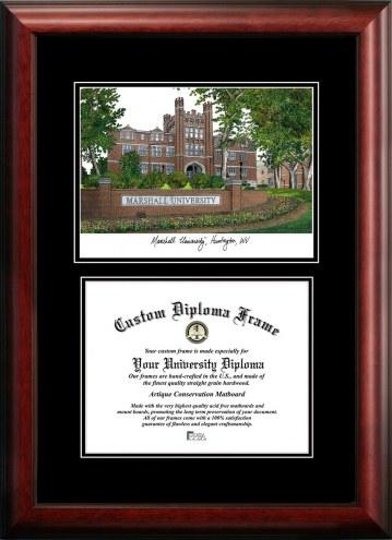 Marshall Thundering Herd Diplomate Diploma Frame