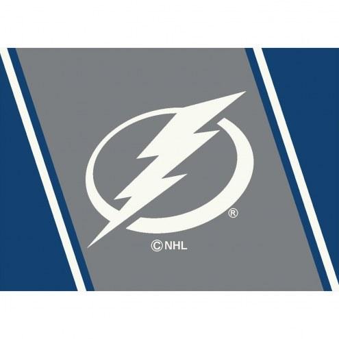 Tampa Bay Lightning NHL Team Spirit Area Rug