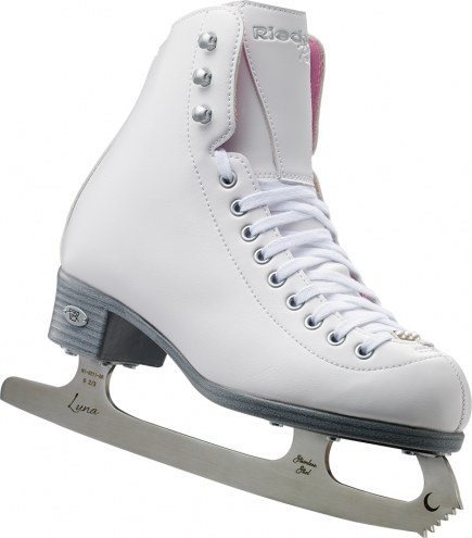 Riedell Pearl Junior Girls Figure Skates with Eclipse Luna Blades