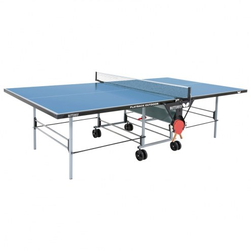 Butterfly TW24 Outdoor Playback Rollaway Ping Pong Table