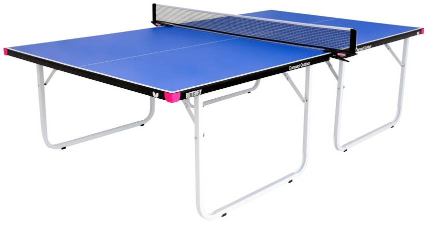 with ping success best to bounce the outdoor pong table