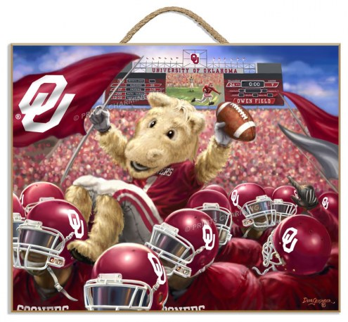 Oklahoma Sooners Celebration Plaque