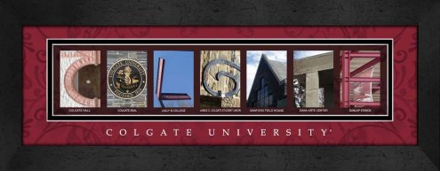 Colgate Raiders Campus Letter Art