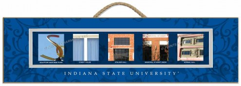 Indiana State Sycamores Campus Letter Art