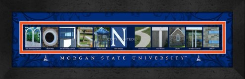 Morgan State Bears Campus Letter Art