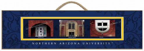 Northern Arizona Lumberjacks Campus Letter Art