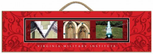 Virginia Military Institute Keydets Campus Letter Art