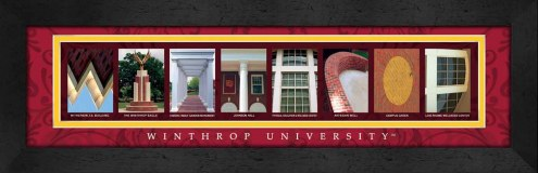 Winthrop Eagles Campus Letter Art