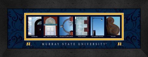 Murray State Racers Campus Letter Art