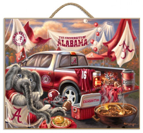 Alabama Crimson Tide Tailgate Plaque