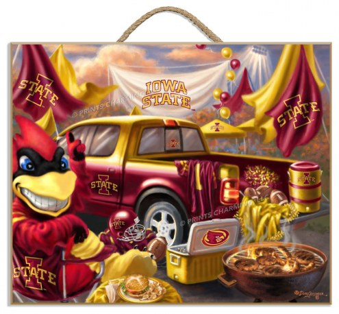 Iowa State Cyclones Tailgate Plaque