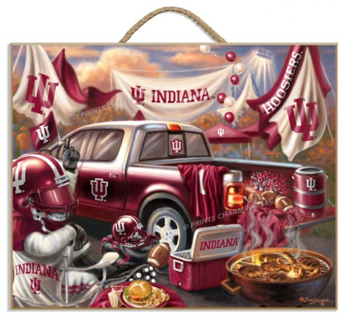Indiana Hoosiers Tailgate Plaque
