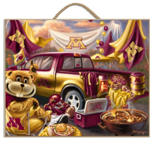 Minnesota Golden Gophers Tailgate Plaque