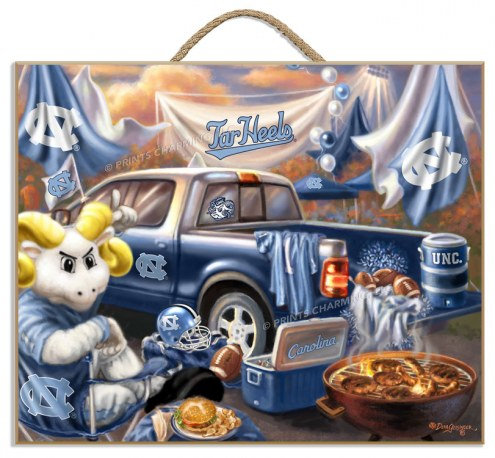 North Carolina Tar Heels Tailgate Plaque