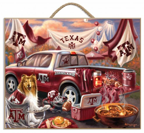 Texas A&M Aggies Tailgate Plaque
