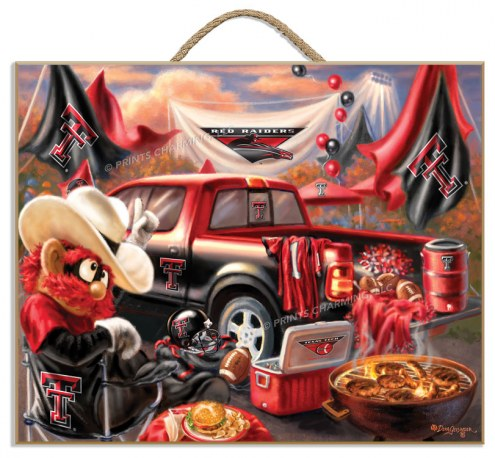 Texas Tech Red Raiders Tailgate Plaque