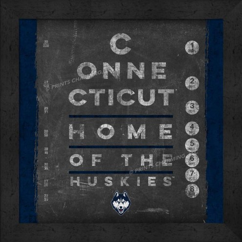 Connecticut Huskies Eye Chart