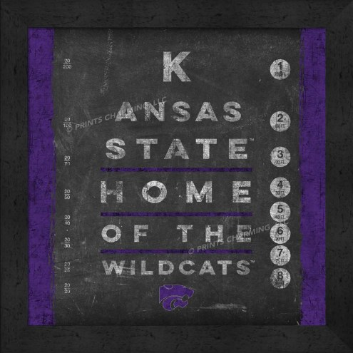 Kansas State Wildcats Eye Chart