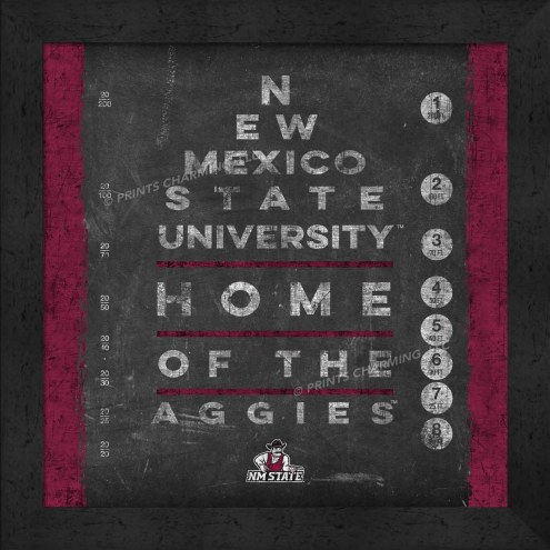 New Mexico State Aggies Eye Chart