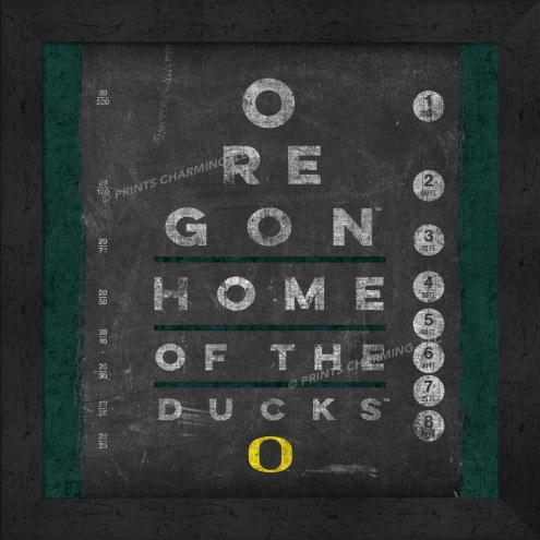 Oregon Ducks Eye Chart