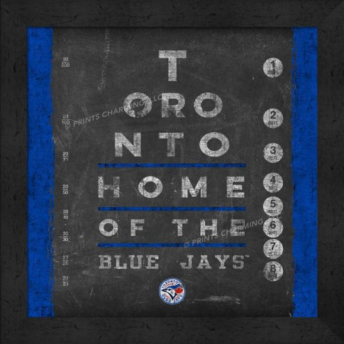 Toronto Blue Jays Eye Chart