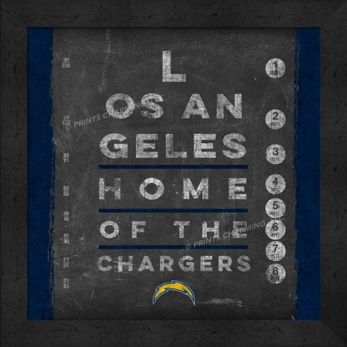 Los Angeles Chargers Eye Chart