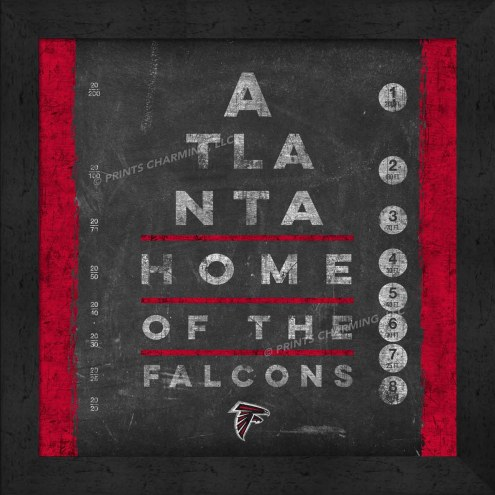 Atlanta Falcons Eye Chart