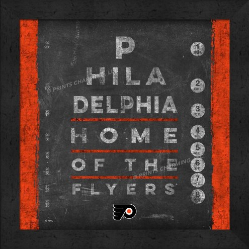 Philadelphia Flyers Eye Chart